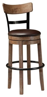 stool under chair lounge material bar stools ashley furniture homestore pinnadel height