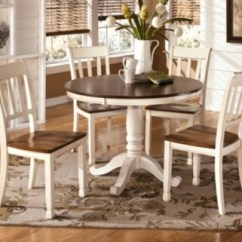 Ashley Furniture Kitchen Table And Chairs Thomas Friends Dining Room Sets Move In Ready Homestore Large Whitesburg 5 Piece Rollover