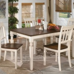 Kitchen Table And Chair Covers Weddings Dining Room Sets Move In Ready Ashley Furniture Homestore Whitesburg 5 Piece