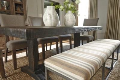Strumfeld Dining Room Bench Ashley Furniture HomeStore