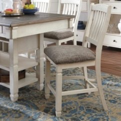 Counter Height Bar Chairs Cherner Table And Bolanburg Stool Ashley Furniture Homestore Large