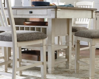 bar height kitchen table stone flooring dining room tables ashley furniture homestore large bolanburg counter rollover