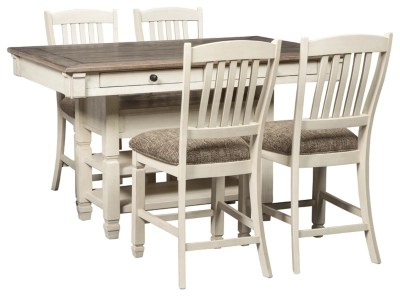 kitchen table sets country dining room move in ready ashley furniture homestore bolanburg 5 piece counter height set
