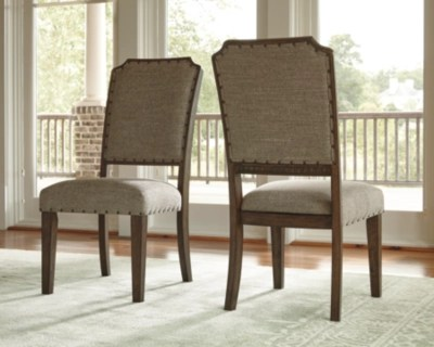 ashley furniture dining room chairs kitchen chair covers dunelm larrenton homestore large