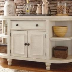 Kitchen Server Cabinet Storage Marsilona Dining Room Ashley Furniture Homestore Large