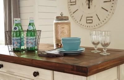 kitchen island set furniture ikea marsilona 3 piece ashley homestore large