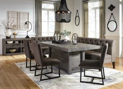 kitchen corner bench seating framed art tripton dining room | ashley furniture homestore