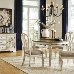 Dining Chair Seat Covers B And M Triton Accessories Realyn Room Table Ashley Furniture Homestore Large