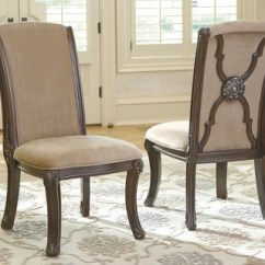 Ashley Furniture Dining Room Chairs Chair To Twin Bed Valraven Homestore Large