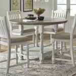 Havalance Counter Height Dining Table Ashley Furniture Homestore