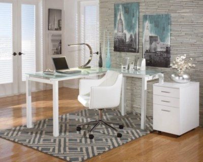 home office desk chairs powerline roman chair review baraga ashley furniture homestore large