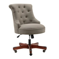 Wood And Leather Office Chair Stryker Stair Manual Home Chairs Ashley Furniture Homestore Meyer Large