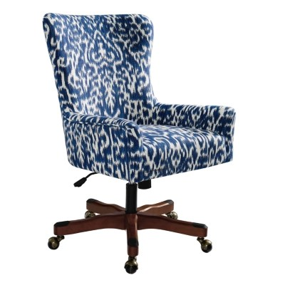 desk chair blue target home office chairs ashley furniture homestore cara large