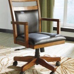 Desk Chair Home Office Reclining With Footrest Lobink Ashley Furniture Homestore Large