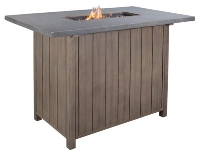 swing chair homestore folding mechanism partanna 7-piece outdoor dining set | ashley furniture