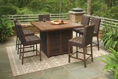 outdoor dining furniture ashley