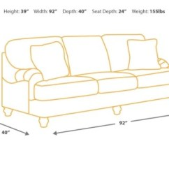 Sofa Seat Height 60cm Canvas Duck 1 Piece Slipcover Depth Secrets How To Choose The Right
