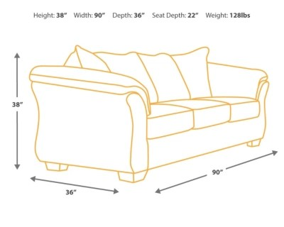 width of a sofa bed brando queen memory foam sleeper bladen ashley furniture homestore images