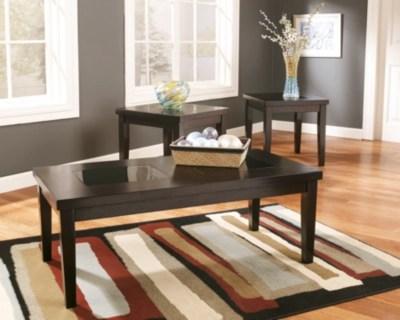 Denja Table Set of 3  Ashley Furniture HomeStore