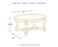 Norcastle Coffee Table | Ashley Furniture HomeStore