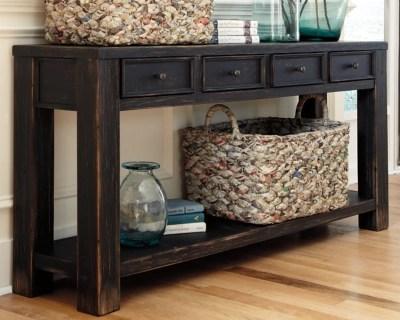sofa console tables wood chelsea bernhardt gavelston table ashley furniture homestore large