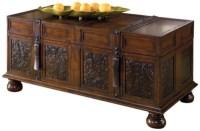 McKenna Coffee Table With Storage   Ashley Furniture HomeStore