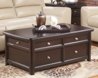 Carlyle Coffee Table with Lift Top | Ashley Furniture ...