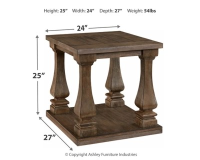 Johnelle End Table Ashley Furniture HomeStore