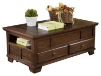 Gately Coffee Table with Lift Top | Ashley Furniture HomeStore