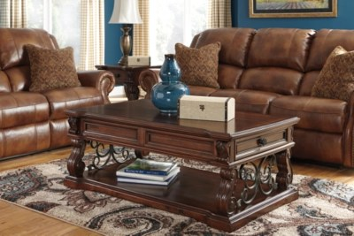 Alymere Coffee Table With Lift Top Ashley Furniture