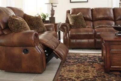 faux leather reclining sofa set black table target walworth | ashley furniture homestore