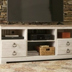 Tv Stand Living Room Beach Themed Design Stands And Media Centers Ashley Furniture Homestore Large Willowton 64 Rollover