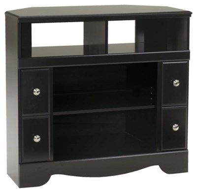 Shay 38 Corner TV Stand Ashley Furniture HomeStore