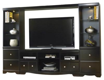 Shay 4 Piece Entertainment Center Ashley Furniture HomeStore