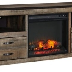 Living Room Tv Stand Decorating Ideas For Rooms With Fireplaces Stands And Media Centers Ashley Furniture Homestore Trinell 63 Electric Fireplace