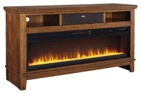 Ralene TV Stand with Fireplace and Wireless Pairing ...