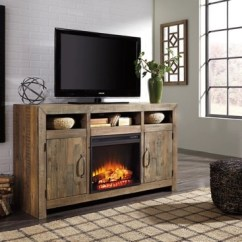 Tv Stand Living Room Tartan Curtains Ideas 2 Stands And Media Centers Ashley Furniture Homestore Large Sommerford 62 With Electric Fireplace Rollover