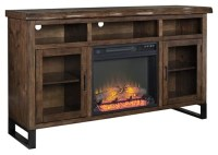 "Esmarina 62"" TV Stand with Electric Fireplace 