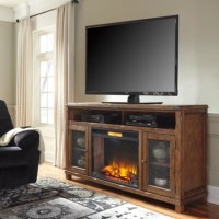 Entertainment Accessories Electric Fireplace Insert ...