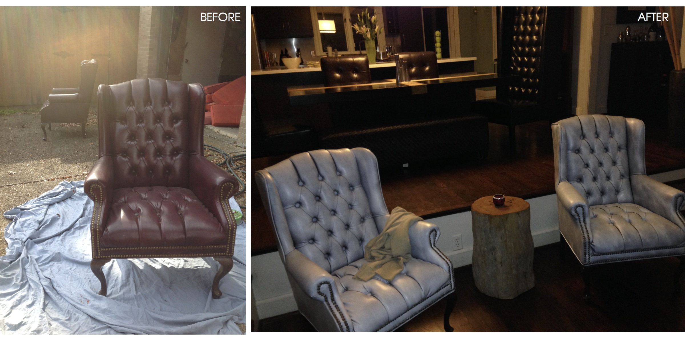 can i spray paint my leather sofa burnt orange and loveseat blog ashley gage design services interior painting
