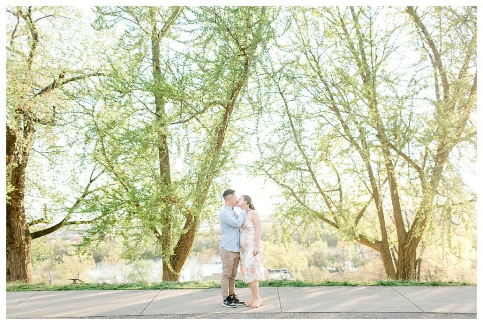 Libby Hill Park Engagement
