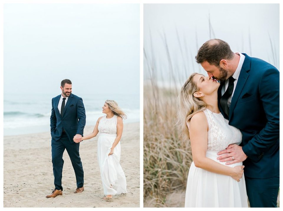 Sandbridge beach house wedding