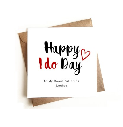 Wedding Day Card