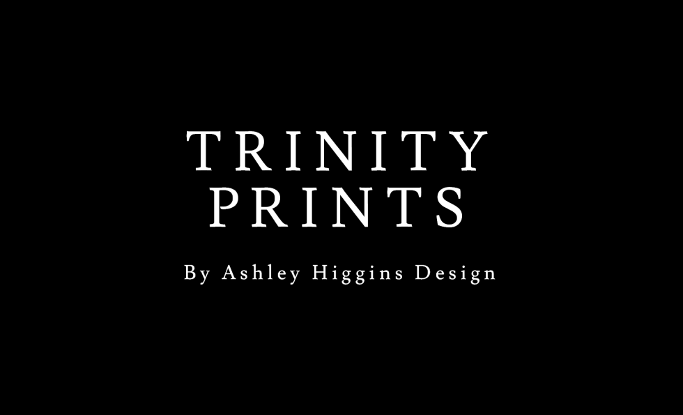 Trinity Prints by Ashley Higgins Design