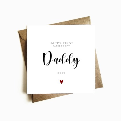 First Father's Day as my Daddy Card