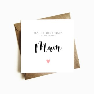 Mum Birthday Card