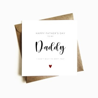 'Father-to-be' Father's Day Card