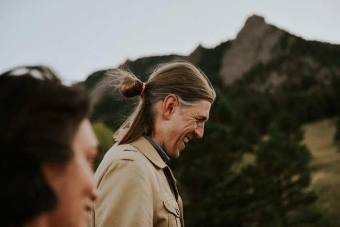 Chautauqua Park, Boulder engagement shoot