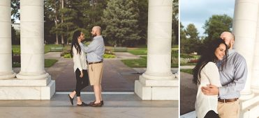 Cheesman Park Engagement Photos | Cheesman Park Photographer | Denver Wedding Photographer | Ashley Joyce Photography