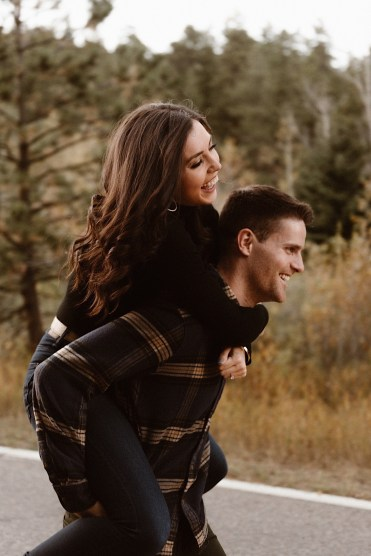 Golden Gate Canyon State Park Engagement Photos | Colorado engagement photos | Colorado wedding photographer | Ashley Joyce Photography